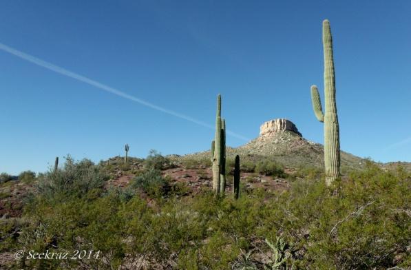 Approaching Indian Mesa