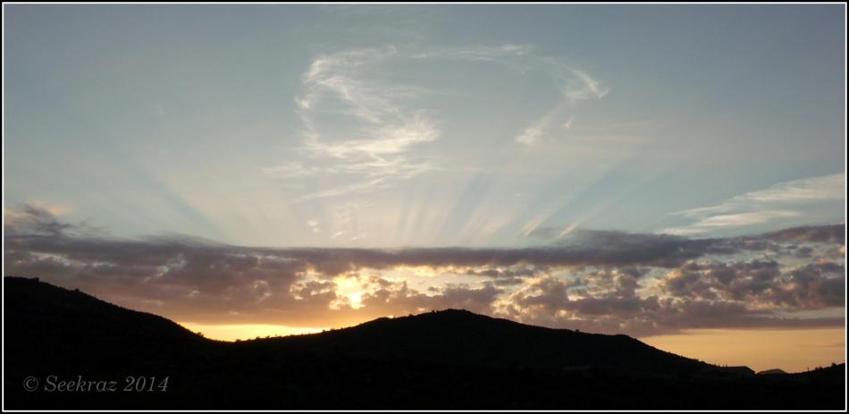 Desert Hills Sunrise