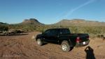 Toward Indian Mesa – at the truck with my hikingpartner