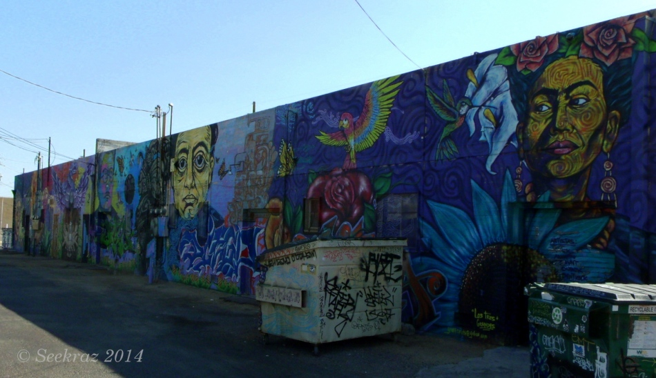 Calle 16 mural complete