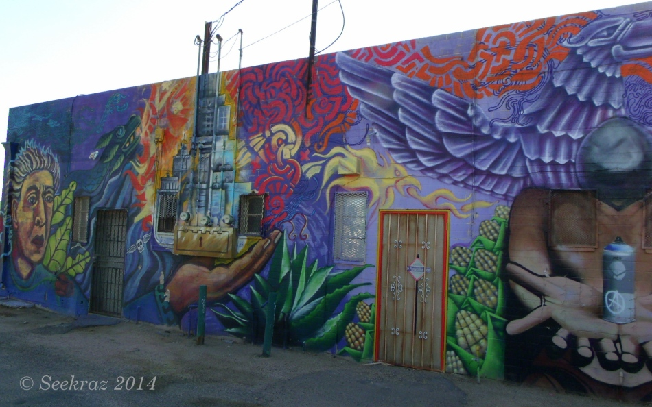 Called 16 mural left