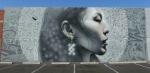 El Mac new mural of Indigenous Woman at 1309 E Van Buren St,Phoenix