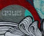 Knitting mermaid mural artist'ssignature