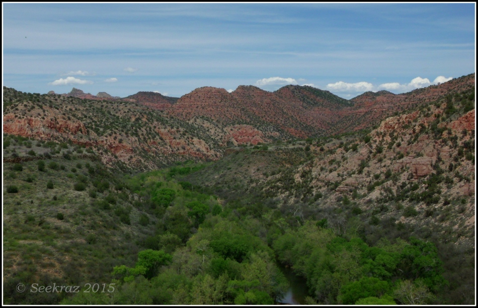 Sycamore Canyon Wilderness Area overlook