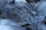 Ice umbrella in Little Cottonwood Canyonstream