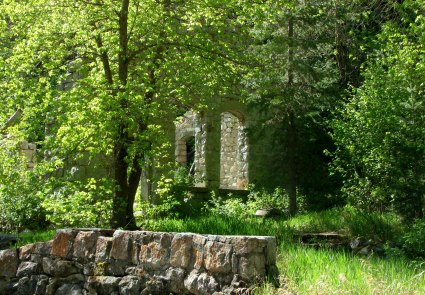 Late Spring at power plant ruins in Little Cottonwood Canyon May 28, 2012