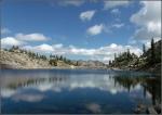White Pine Lake in August, Little CottonwoodCanyon