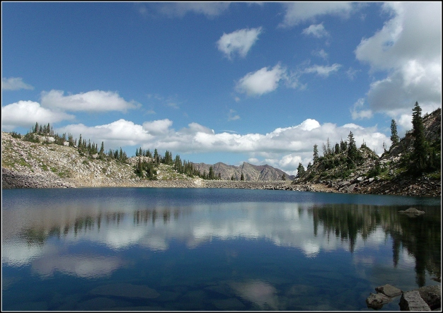 White Pine Lake in August, Little Cottonwood Canyon