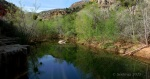 Sycamore Canyon wide creek withreflections