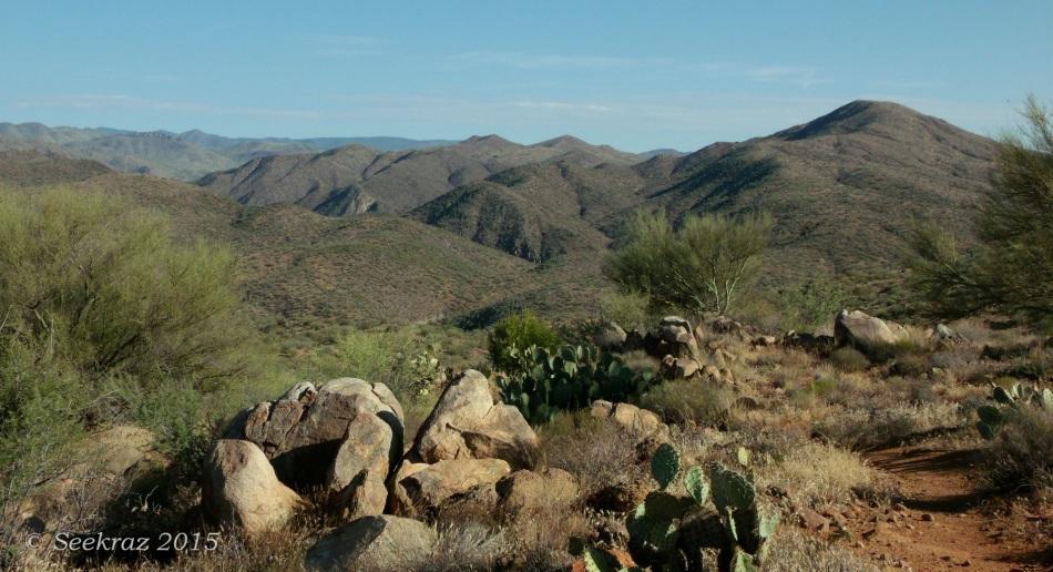 Black Canyon Trail and Bradshaw Mountains