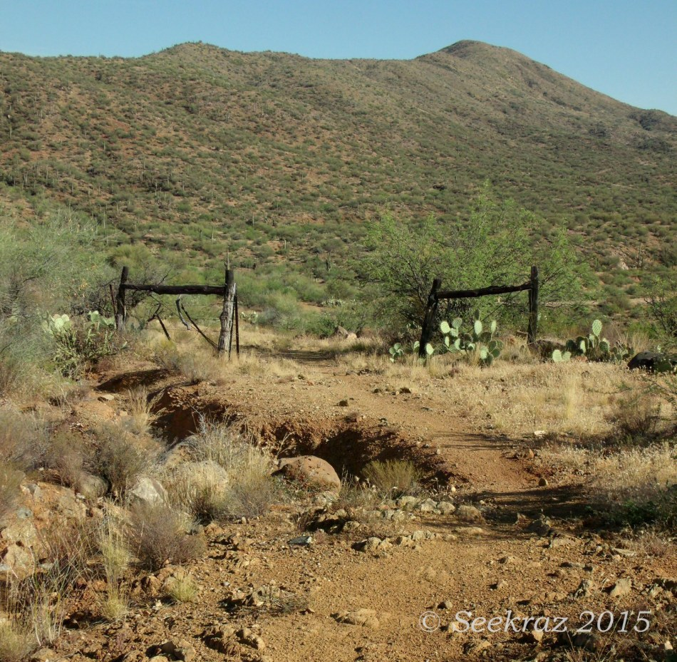 Character of Place, gates of passage along Black Canyon Trail