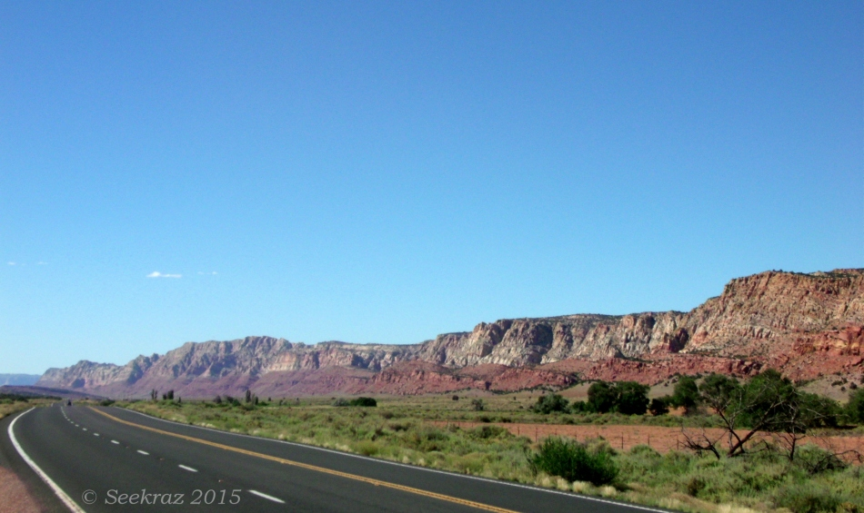 Echo Cliffs northern panorama
