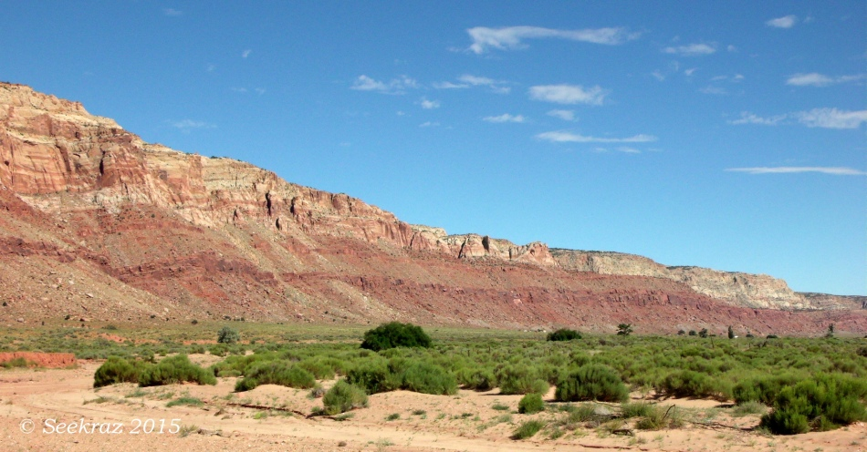 Echo Cliffs southern panorama