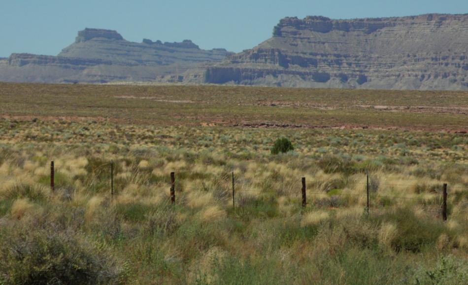 Whitish cliffs, north of Lake Powell, Utah