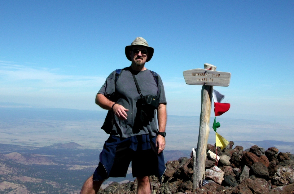 The highest point in Arizona.
