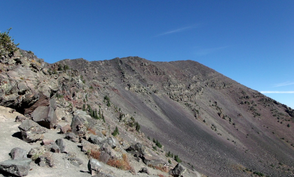 Destination of trail to Humphreys Peak