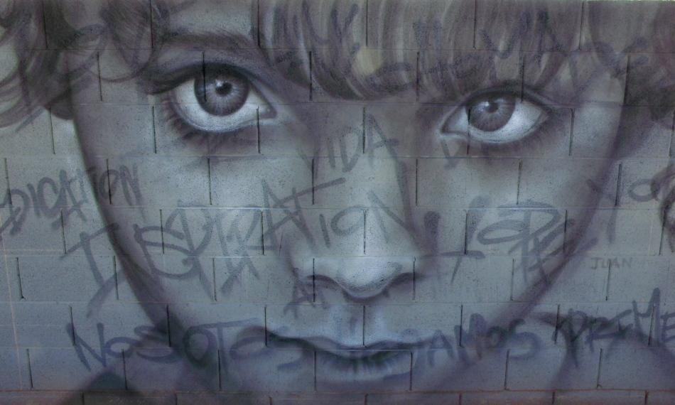 Inspiration - alley wall art