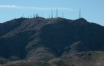 Antennas and trails in White Tank Mountains