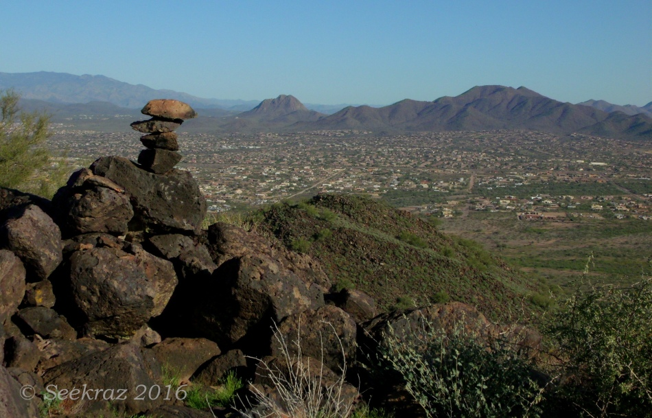 Looking north over Anthem from atop the Tramonto Hills