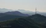 Microwave tower over deserthills