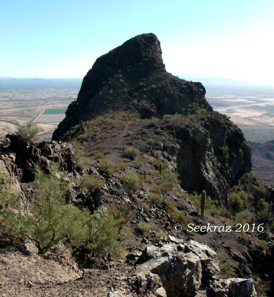 Picacho Peak summit proper