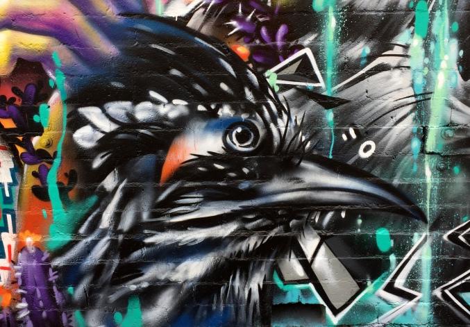 Fernando'Alignment Mural -closeup-raven