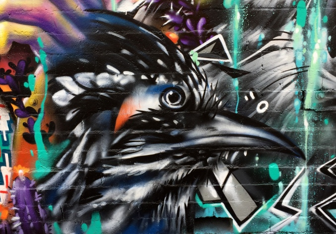 Fernando'Alignment Mural -closeup-raven