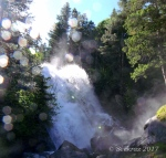 Lower Bells Canyon Falls withspray