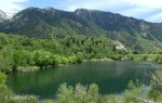 Bells Canyon Lower Reservoir in theafternoon