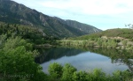 Bells Canyon Reservoir in themorning