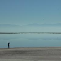 Antelope Island reflectioning....