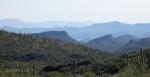 Smokey desert mountainwaves