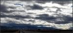 clouds over mountainpanorama