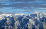 Wasatch Mountains with Bells Canyon and LonePeak