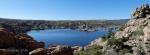 Watson Lake view from northwestcorner