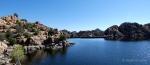 Watson Lake view of thedam