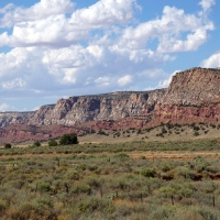 Echo Cliffs, Highway 89, south of Page, Arizona