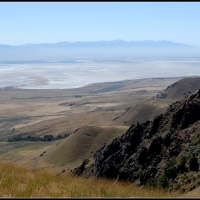 Toward Frary Peak on Antelope Island - Part Last