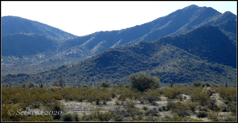 White Tank Mountains, northwest side
