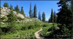 Lake Catherine trail